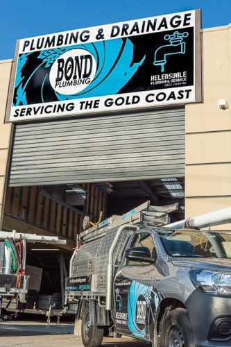 Bond Plumbing - Plumbing Serivces & Drainage Solutions on the Gold Coast